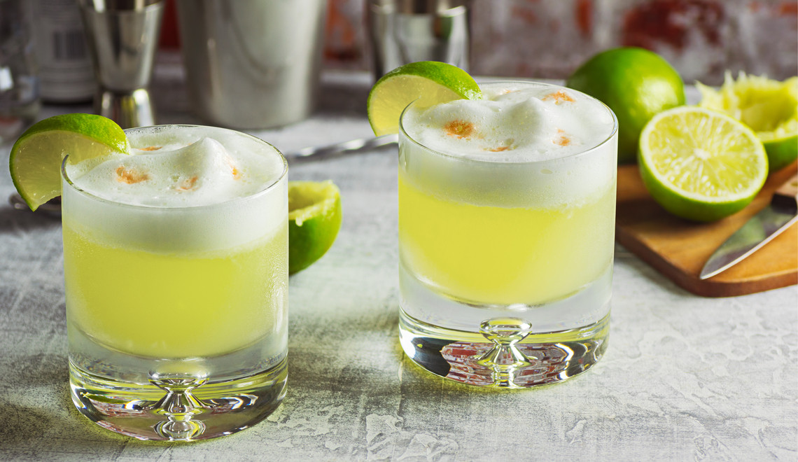 Receita do dia: Pisco Sour